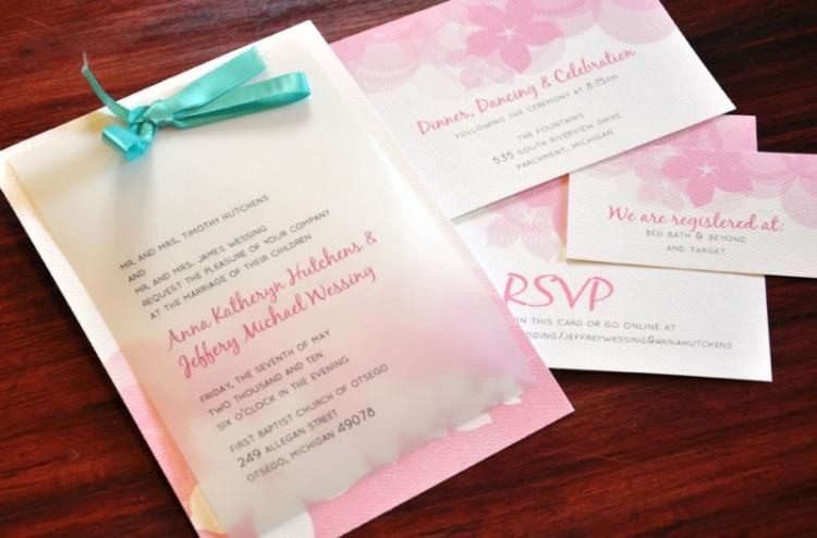 Jeffery and Anna Wedding Invites