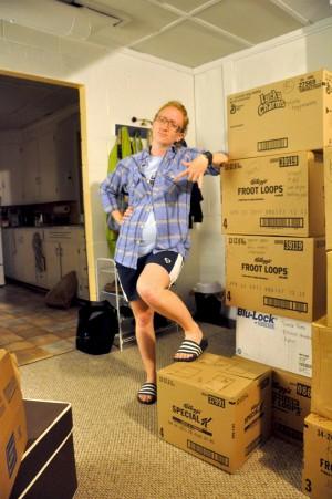 Sarah The Moving Champ