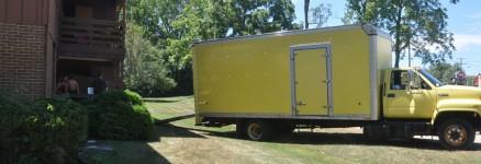 Big Yellow Moving Truck